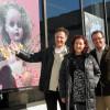 Des oeuvres colombiennes et trifluviennes sur les vitrines du campus