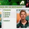 Caroline Lapierre-Lemire et Louis-Thomas Fortier nommés Patriotes de la semaine