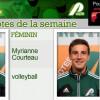 Myrianne Courteau et Raphaël Bélanger Vaillancourt Patriotes de la semaine