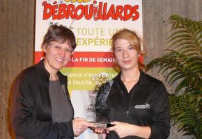 Andréanne L. Nolin obtient le prix Beppo 2012 en animation scientifique