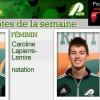 Caroline Lapierre-Lemire et Alex Gélinas nommés Patriotes de la semaine
