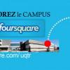 Joignez la communauté Foursquare de l'UQTR
