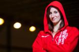 La nageuse Caroline Lapierre-Lemire en préparation pour les Universiades
