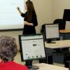 Un tableau blanc interactif au service des usagers de la bibliothèque