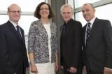 Philippe Girard partage son savoir avec l'équipe de la Chaire de recherche en gestion de projets aéronautiques
