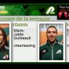 Marie-Joëlle Guilbault et Maxime Cédillot Patriotes de la semaine