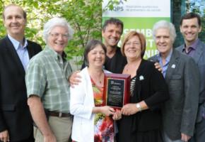 L'Association des Endeuillés par Suicide de La Traverse récipiendaire d'un prix en prévention