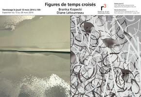 Exposition de Branka Kopecki et de Diane Létourneau