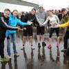 Les étudiants des sciences de l'activité physique ont fait un pied de nez au printemps tardif