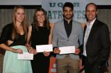 Trois étudiants-athlètes du Département récompensés pour leurs efforts!