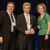 Sylvain Benoit reçoit le Prix de la présidente du BCEI de leadership distingué en éducation