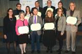 Neuf membres de la communauté universitaire honorés lors de la cérémonie Distinction UQTR