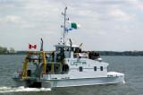 Le navire de recherche de l'UQTR accueille des étudiants en écologie aquatique