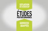 Les étudiants en situation de handicap: Les services adaptés