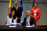 Énergies renouvelables: l'UQTR signe un accord de coopération avec la Colombie