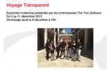 Exposition collective à la Galerie d'art R3 – «Voyage transparent»