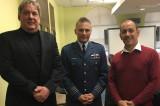 Le colonel Sylvain Ménard rencontre l'équipe de la Chaire de recherche en gestion de projets aéronautiques