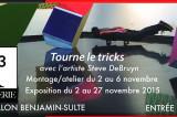Galerie R3 – Exposition intitulée «Trouve le tricks»