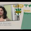 Sarah Bonneau fière diplômée en génie industriel