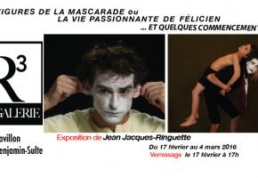Exposition de l'artiste trifluvien Jean-Jacques Ringuette à la Galerie R3