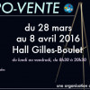 Expo-vente, du 28 mars au 8 avril 2016