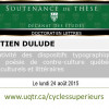 Sébastien Dulude a soutenu sa thèse de doctorat en lettres