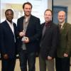 Alexis Bilodeau honoré par ses pairs au Département de génie électrique