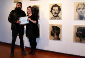 L'artiste Ahad Moslemi remporte la 28e bourse Gilles-Verville