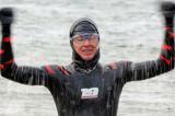 Le nageur Vincent Godin livre un témoignage à des étudiants de l'UQTR