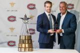 Charles-David Beaudoin est le récipiendaire universitaire du Prix d'excellence Guy-Lafleur