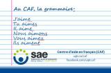 Ateliers du CAF: Perfectionne tes techniques en révision grammaticale!