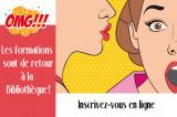Sur toutes les lèvres: les ateliers de formation de la Bibliothèque!