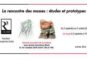 Galerie R3 – Exposition de Annie Conceicao-Rivet