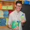 La récupération du savon sur le campus, c'est économique et écologique