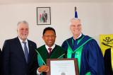 L'UQTR décerne un doctorat honoris causa au président de Madagascar