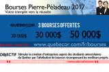 Bourses Pierre-Péladeau 2017 pour le démarrage d'entreprise