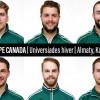 Six Patriotes aux Universiades d'hiver 2017