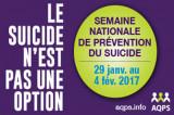 Semaine de la prévention du suicide