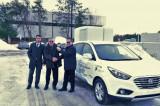 Le premier véhicule à l'hydrogène au Québec arrivé à l'UQTR