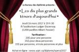 Soirée opéra «Les dix plus grands ténors d'aujourd'hui»