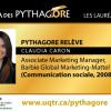 Portrait d'une lauréate Pythagore – Claudia Caron