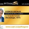 Portrait d'un lauréat Pythagore – Sénateur Éric Forest
