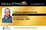 Portrait d'un lauréat Pythagore – Patrick Pellerin