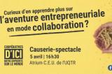 Curieux d'en apprendre plus sur l'aventure entrepreneuriale en mode collaboration?