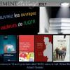 Lancement collectif 2017 – Découvrez les récents ouvrages des membres de notre communauté!