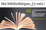 La Déclaration des bibliothèques québécoises: l'UQTR y participe