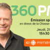 L'émission 360 PM en direct du campus jeudi