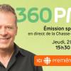 L'émission 360 PM en direct du campus jeudi