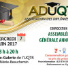 Assemblée générale annuelle – ADUQTR