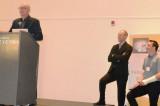 Pierre-Charles Dessureault reçoit le prix Antoine-Aumont de l'AQHSST